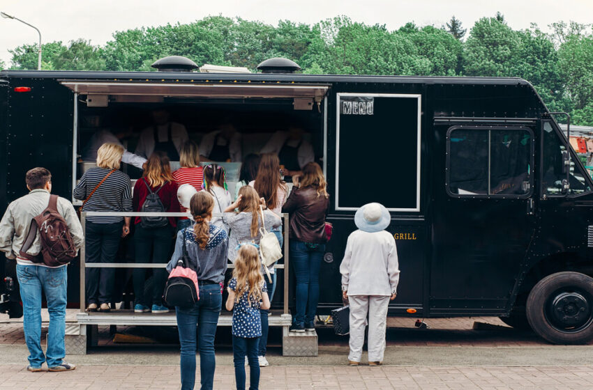 How to Run a Catering Van Business