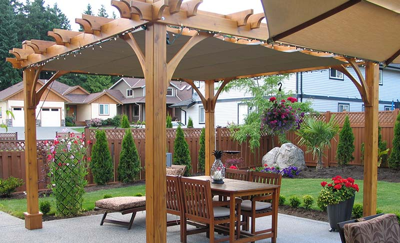 How to Maintain Your Pergola